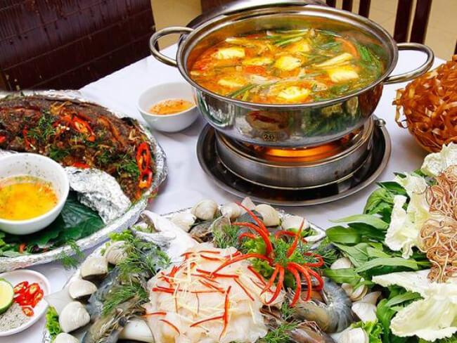 Giá trị dinh dưỡng món lẩu hải sản