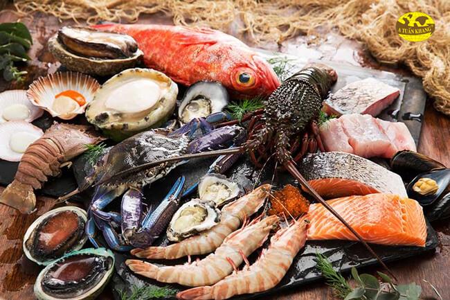 Lựa chọn nguyên liệu hải sản
