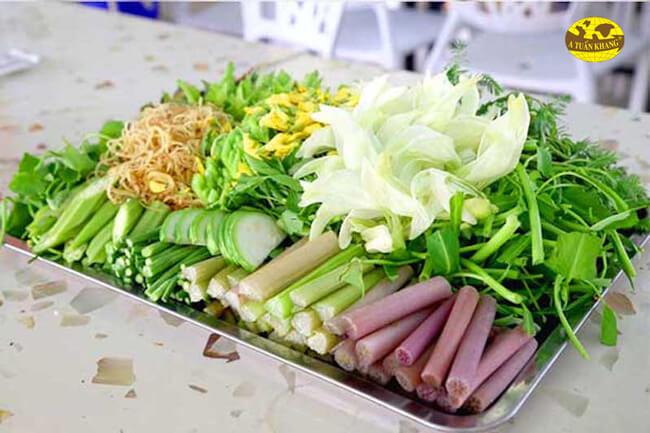 Lựa chọn nguyên liệu rau củ