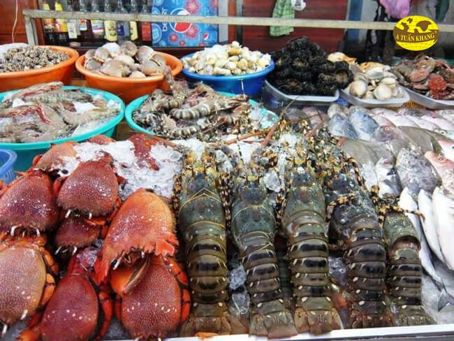 Lưu ý về độ tươi của hải sản