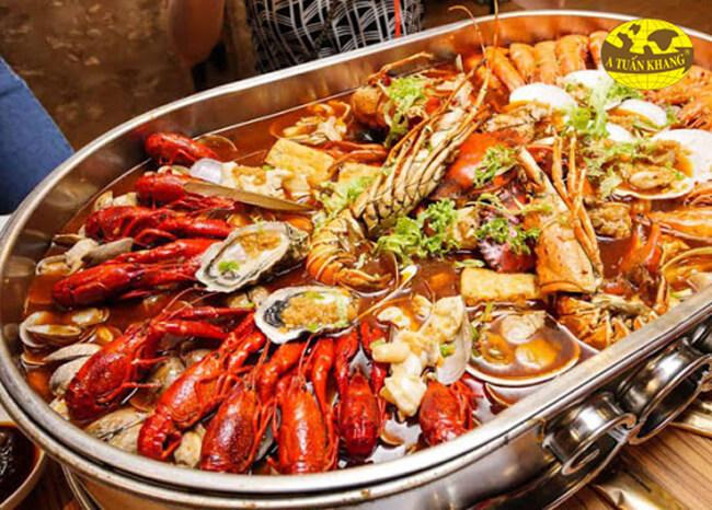Cần nấu chín hải sản