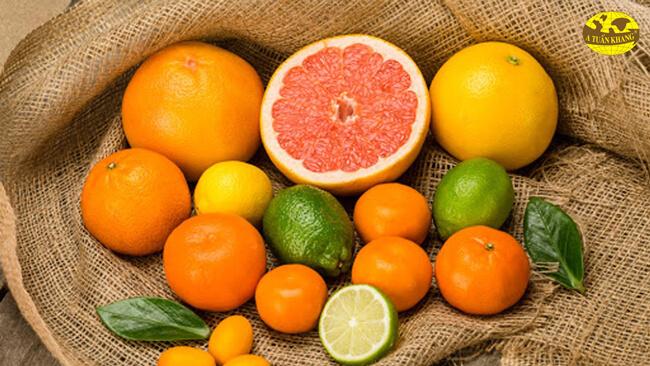 Kiêng dùng chung với một số loại trái cây
