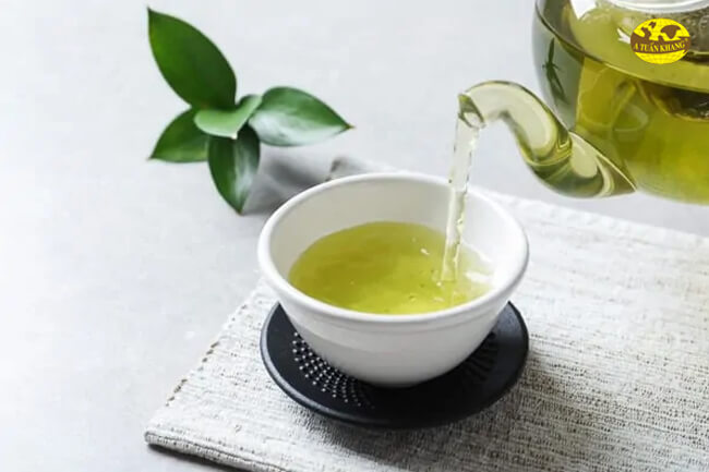 Kiêng dùng chung với nước trà xanh