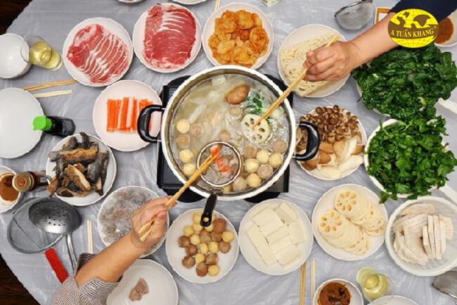 Cách ăn lẩu hải sản tốt cho sức khỏe