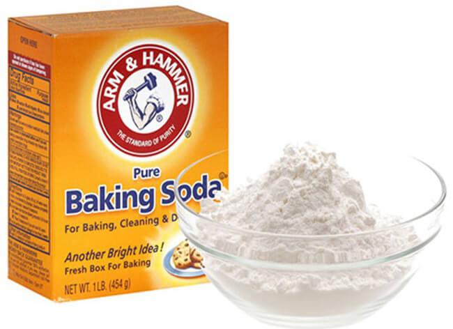 Dùng baking soda