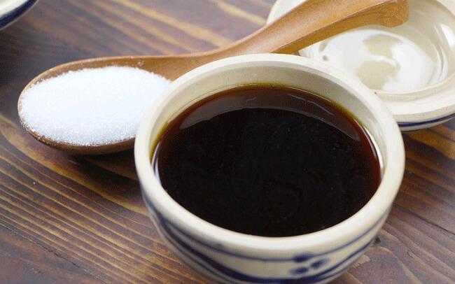 Thành phẩm chưng nước hàng bằng đường trắng