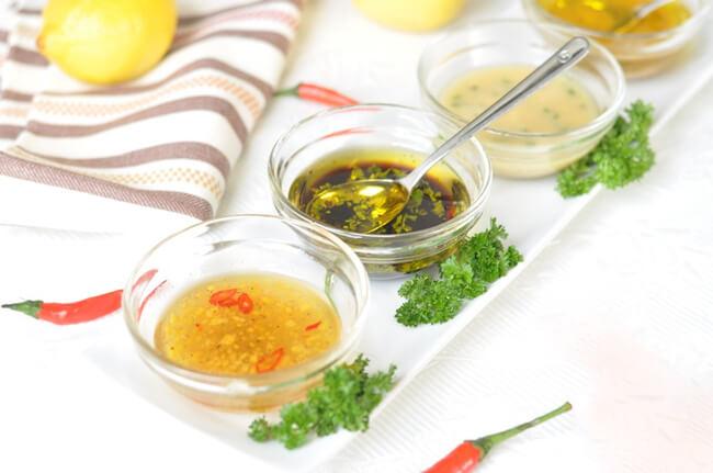 Công dụng giấm ăn trong ẩm thực