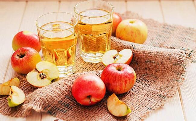Thời gian uống giấm táo