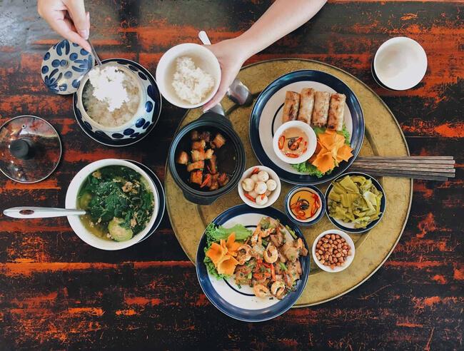 Các món ăn ngày Tết từ thịt lợn