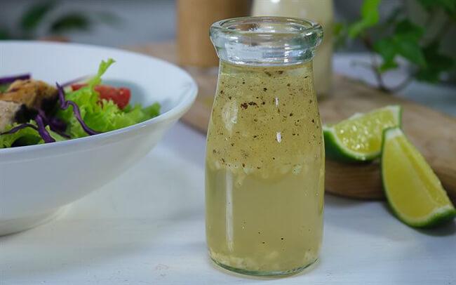Công thức làm nước trộn salad