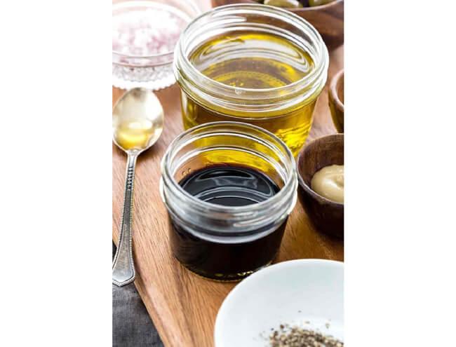 Nước sốt dầu giấm dùng giấm tiều